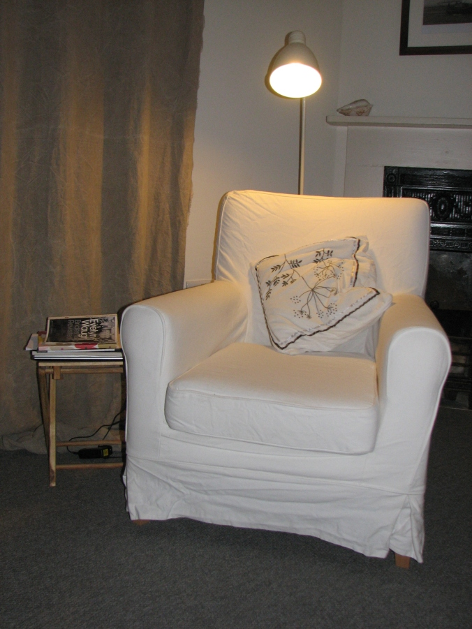 Evening reading chair